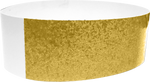 "An Adhesive 1"" X 10"" Sparkle Solid Gold wristband"