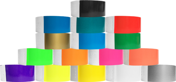 "Genesis 1"" Litter Free Biodegradeable Solid Colour Wristbands"