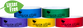 "Custom 1-Colour 1"" Tyvek® Litter Free Wristband Combo Packs"