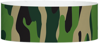 "A Tyvek® 1"" X 10"" Camouflage Multicolored wristband"