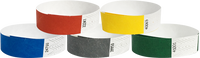 "A Tyvek® 3/4"" Solid Combo Pack 1 Wristbands"