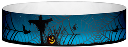 "Tyvek® 3/4"" x 10"" Scarecrows pattern wristbands"