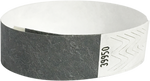 "A Tyvek® 3/4"" solid Silver wristband"