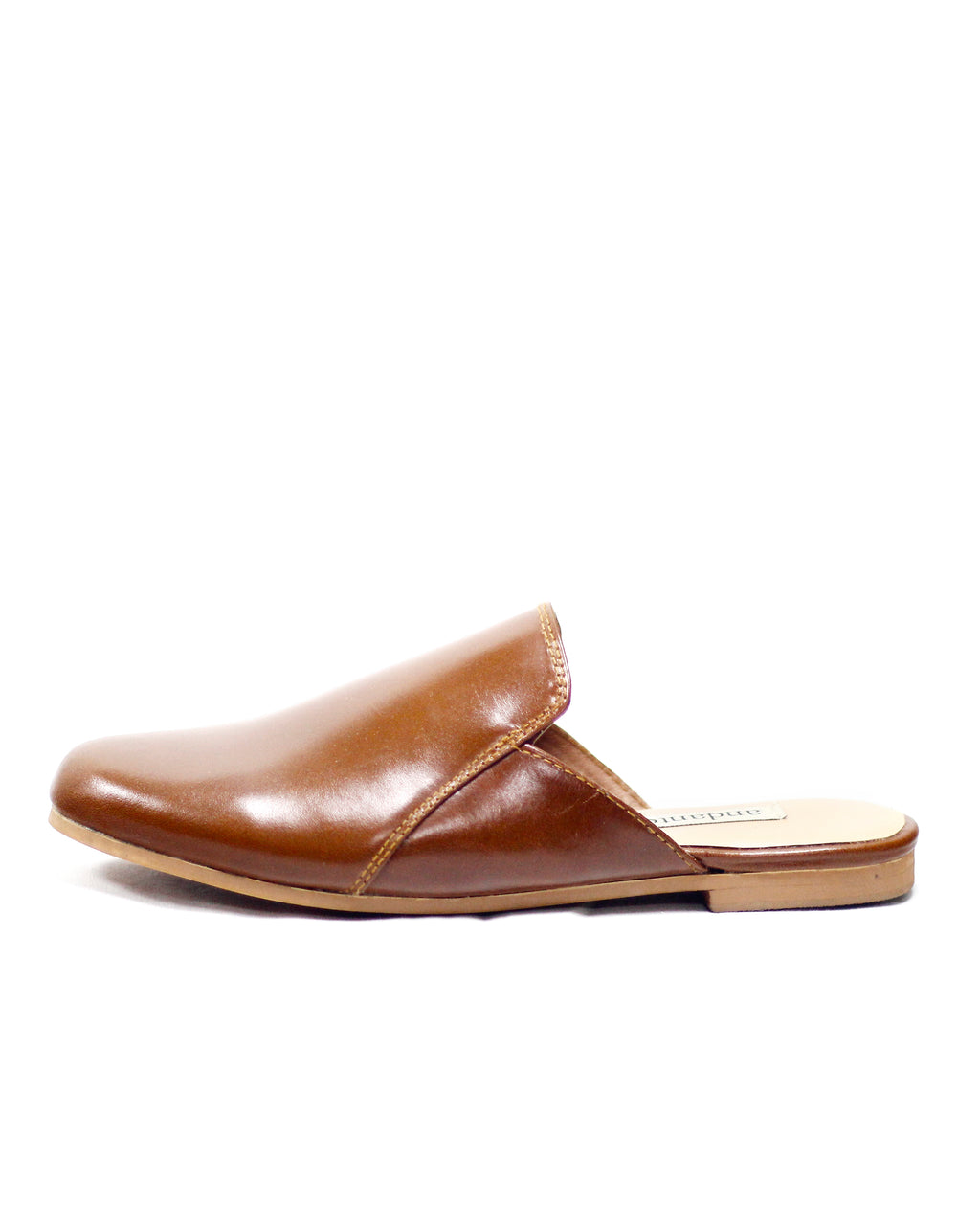 Smoking Slipper in Tan
