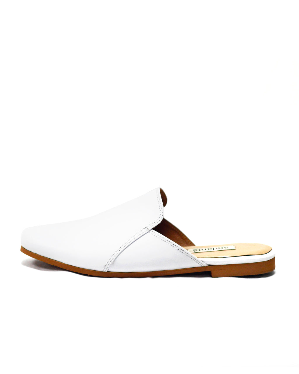 Smoking Slipper in Wht