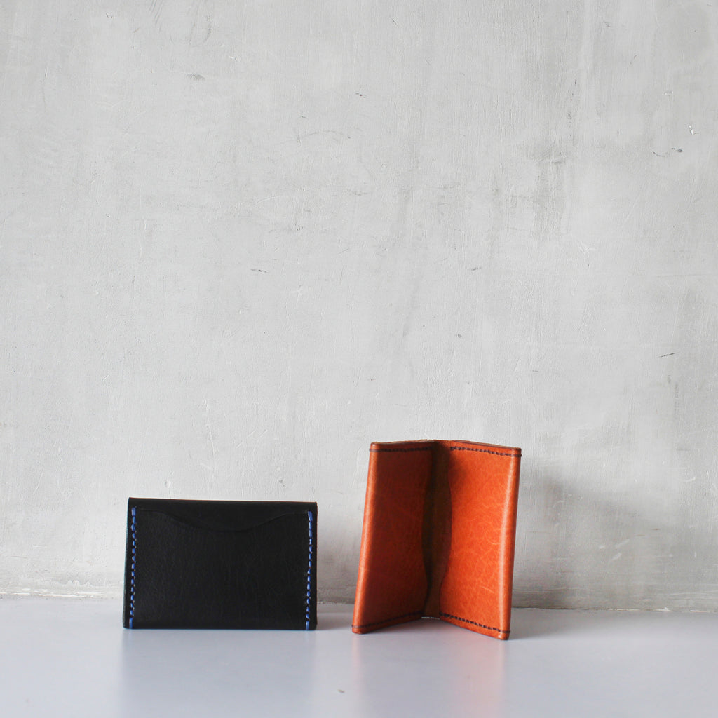 Veg-Tanned Card Case