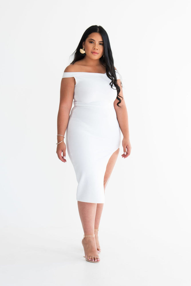 Leila bodycon midi dress