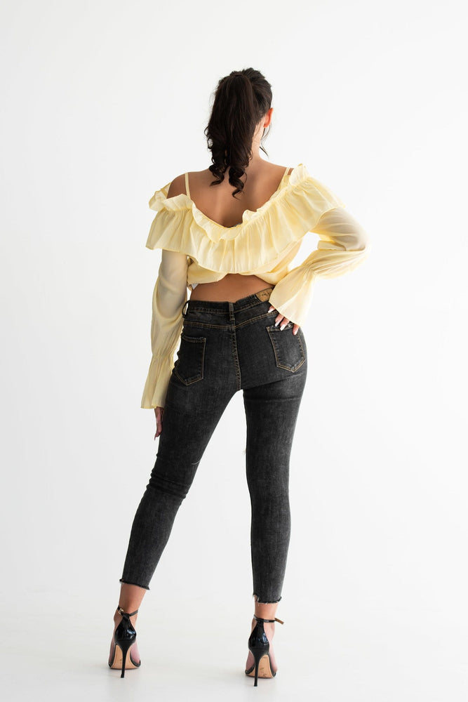 Lemonade frill blouse - Seven Chique