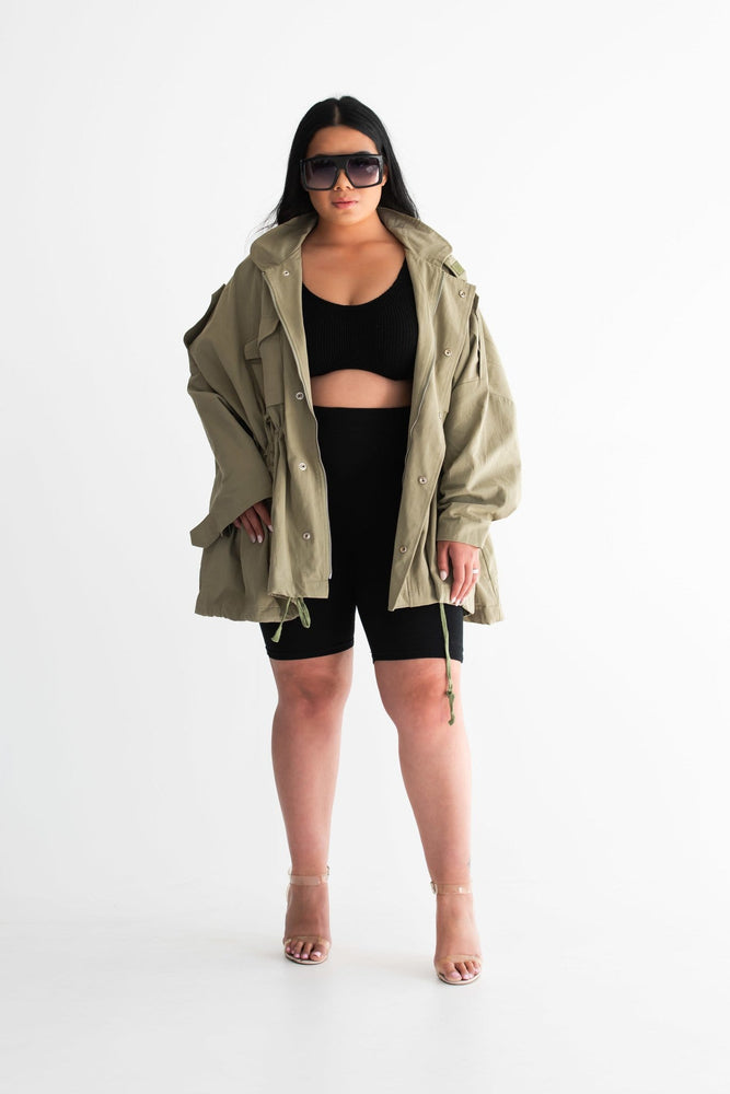 Brooklyn loose jacket - Seven Chique