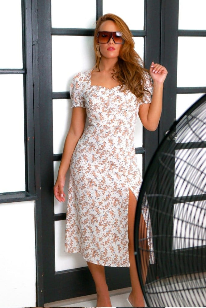 Laguna midi dress