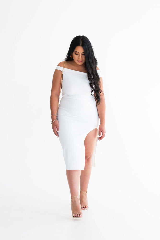 Leila bodycon midi dress - Seven Chique
