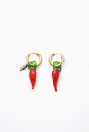 Double Earrings Chiles