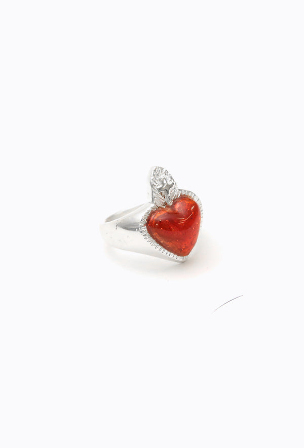 Anillo Heart of Glass.