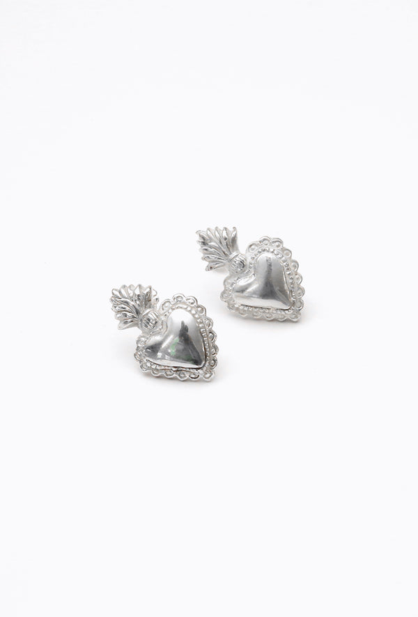 Aretes Heart on Fire II Stud.