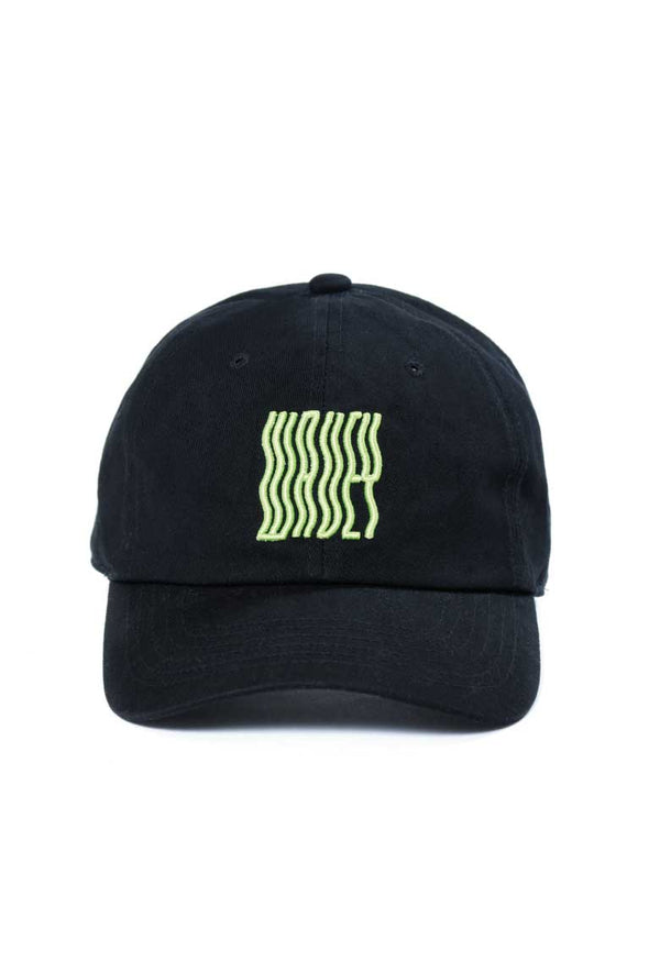 Black Green Logo Cap