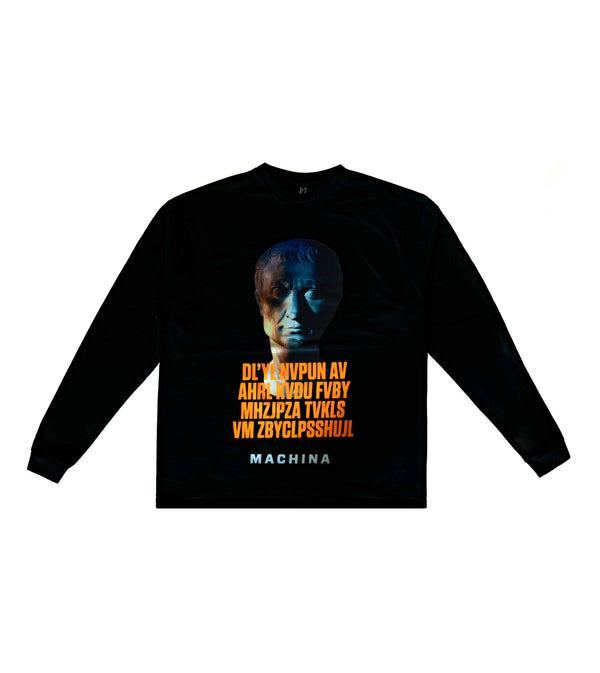 Caesar Cipher Long Sleeve Shirt