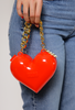 Polly Heart Bag Red