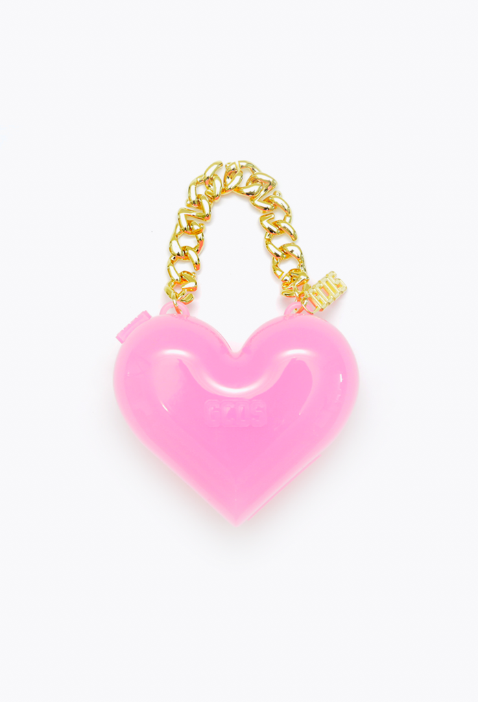 Polly Heart Bag Pink