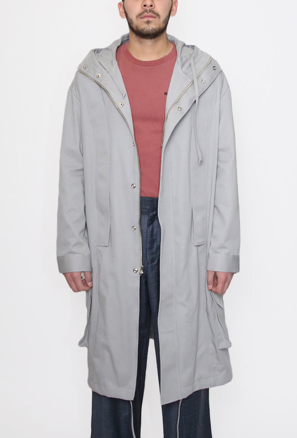 Faro Parka Light Grey