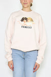 Vintage angels sweat pale pink