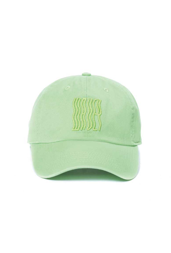 Green Washed Logo Cap