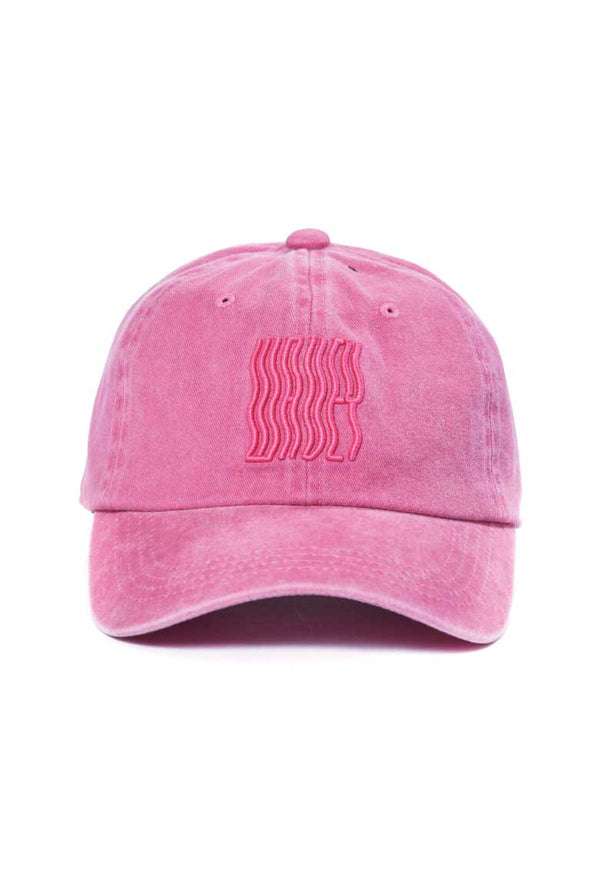 Pink Washed Logo Cap