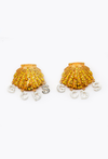 Clip Shell Earrings