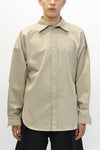 Khaki Wide Shirt