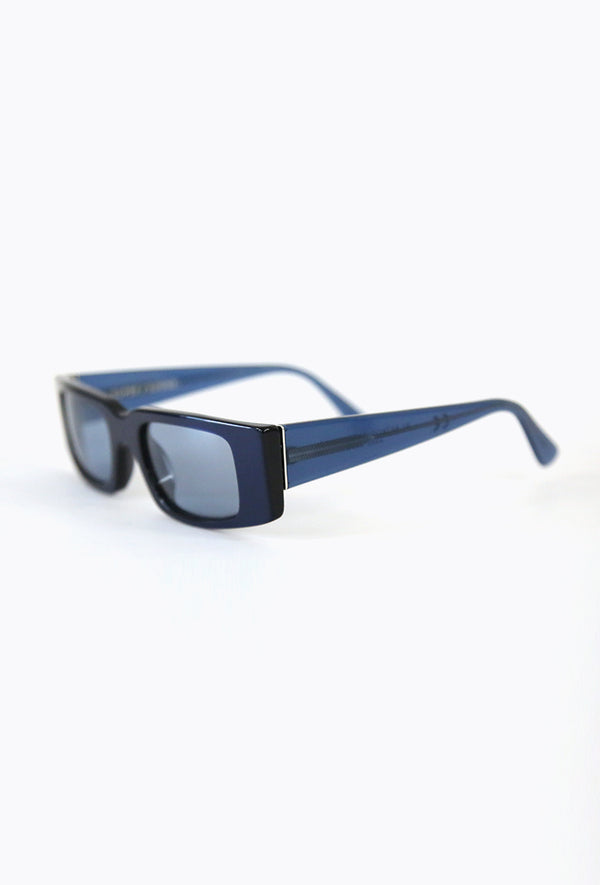 Square Sunglasses Azul Marino