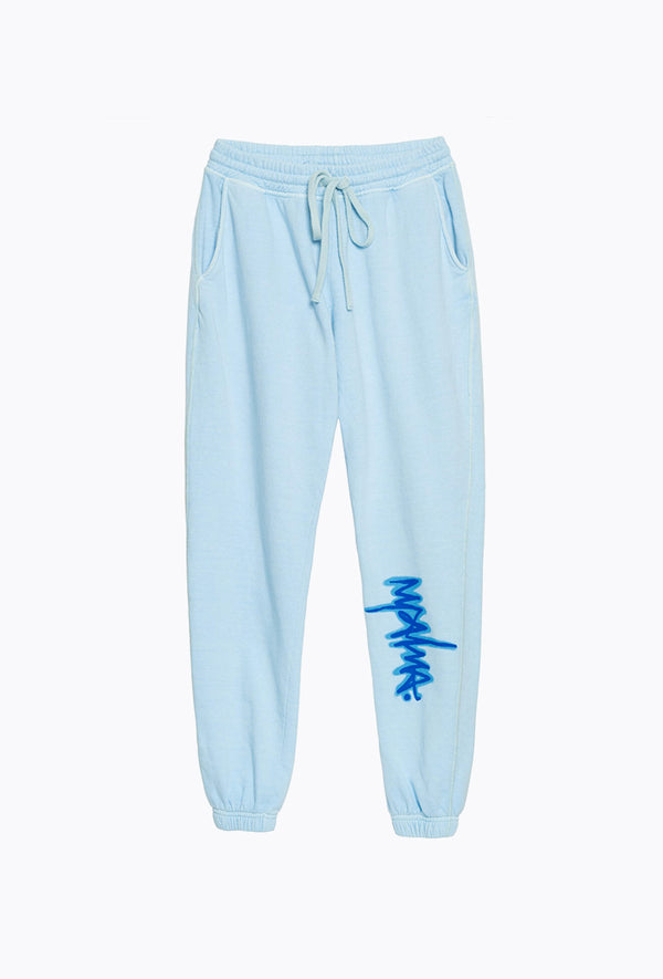 Baby Blue Graffiti Pants