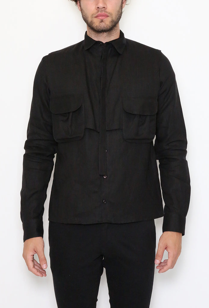 Amimitl Shirt Black