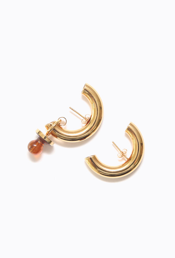 Small Dummy Cut Earring