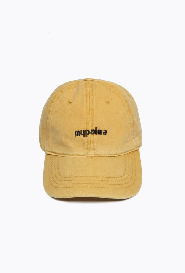 Washed Yellow Cap