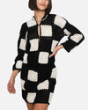 Martha Sweater in Checkers
