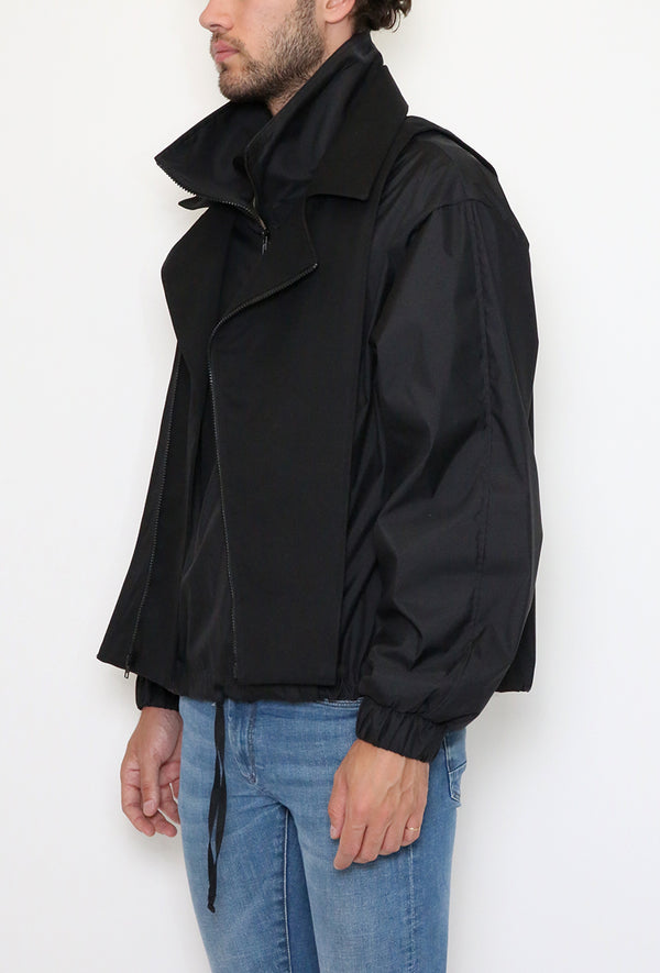 Grid Down Jacket Black