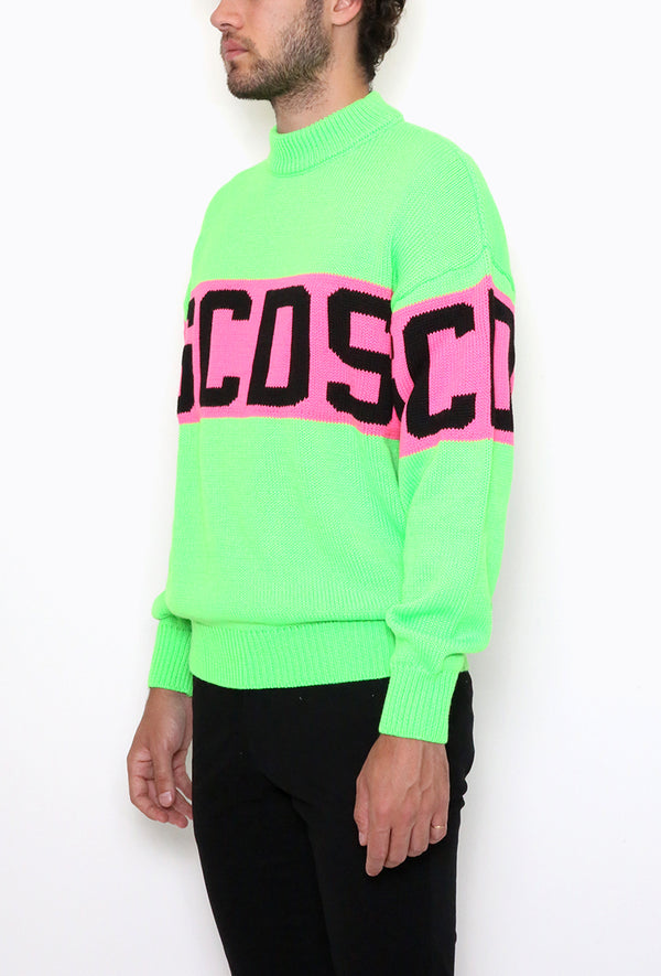 Colorfull Logo Sweater