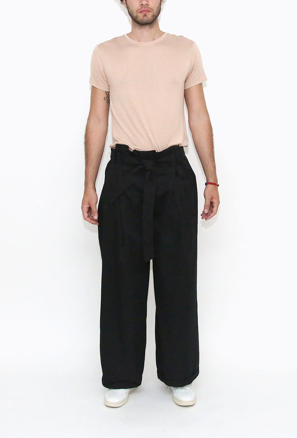 Anahuacalli Trousers Black