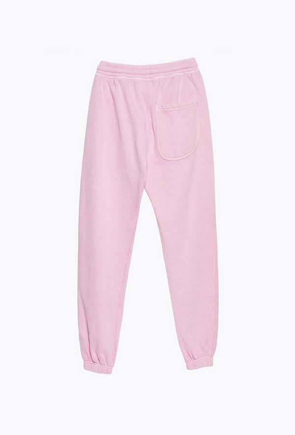 Baby Pink Graffiti Pants