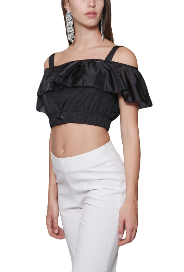 Volant Top Black