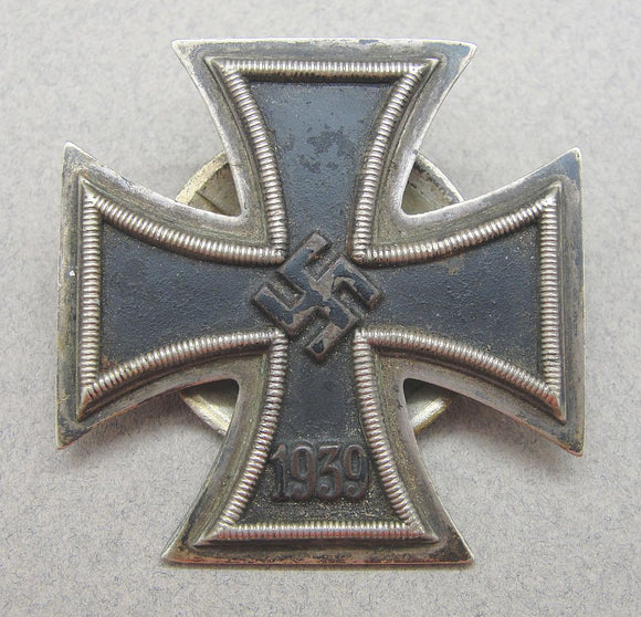 1939 Iron Cross First Class Screwback Version by Wiedmann
