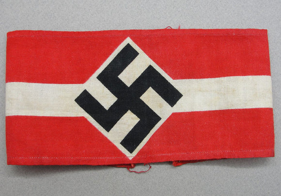 Hitler Youth Armband Rare Printed Version