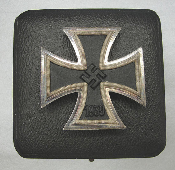 Cased 1939 Iron Cross First Class by Wilhelm Deumer, Choice!