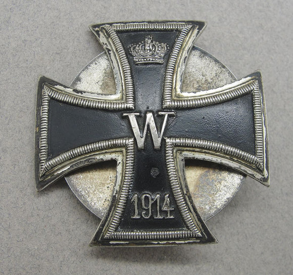 WW1 Iron Cross First Class Screwback Version Vaulted - Non Magnetic