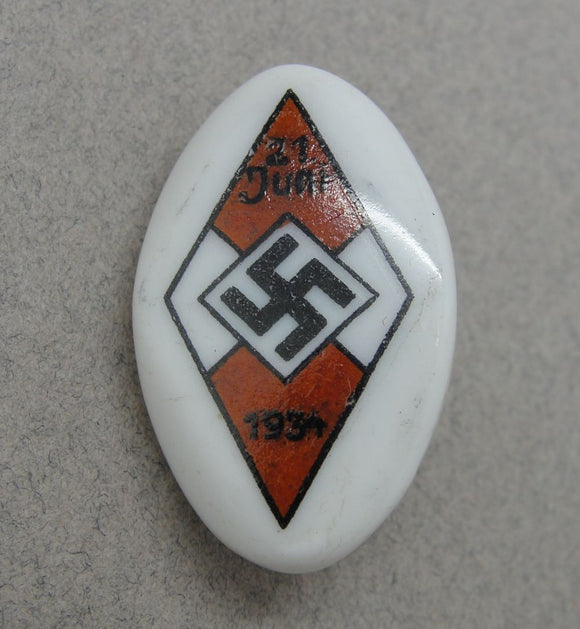 1934 Hitler Youth Badge