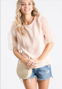Arm Candy Peach Top