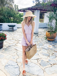 Mauve Weekend Romper
