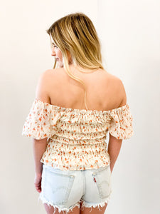 Tulip off the Shoulder Blouse