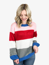 Load image into Gallery viewer, Color Blocked Sweater