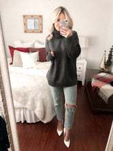 Load image into Gallery viewer, Oversized Grey Sweater