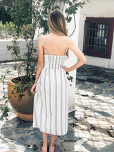 Load image into Gallery viewer, Striped Midi Dress